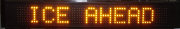 1 Line VMS Text Display BOARD