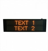 2 LINE VMS TEXT DISPLAY BOARD