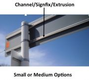 Channel/Signfix/Extrusion - Small